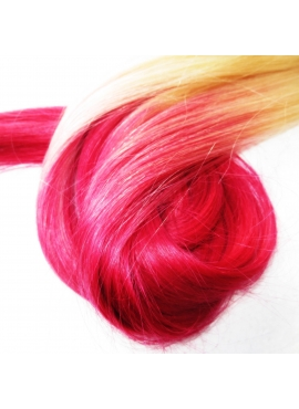 60/Pink Ombre hotfusion, 50 cm langt