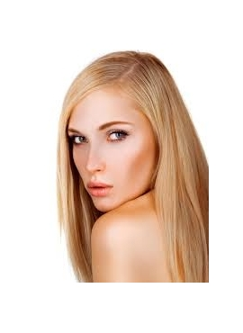 Farve 20 mørk blond, Premium Eurostyle 100 totter 1 grams hår, 50 cm langt, med keratin negle