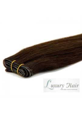 1B Sort/Brun, Premium Asien trense, 50 cm langt, 100 gram