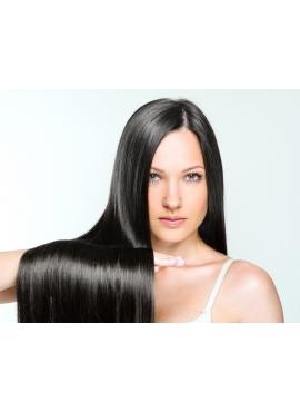 1b SortBrun Asien Tape Remy Hair Extensions, 60 cm langt