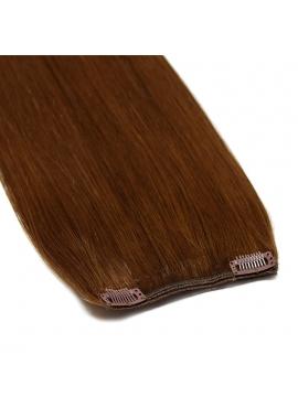 1 bane 10 cm, VÆLG farve, luksus remy clip in hår extension, 50 cm langt