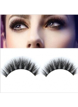 Ægte Mink Falske Eyelash Extension 12 mm