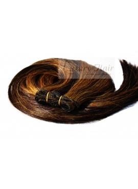 2/8 Trense i Premium Eurostyle, 100 gram hår, 50 cm langt.