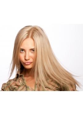 1001 Ask Blond, Premium Eurostyle tape hår 4 cm brede luksus remy baner - klar til brug
