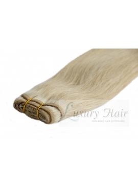 20 Mørkeblond, Premium Eurostyle trense, 50 cm langt, 100 gram hår