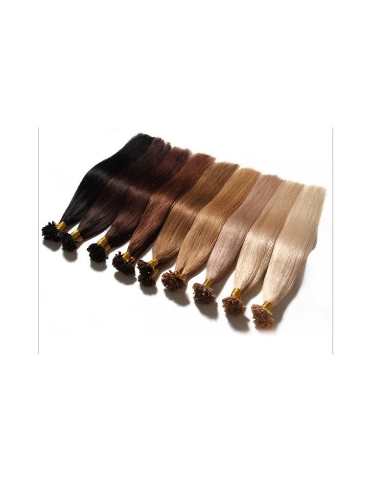 25 totter remy hair extension til hotfusion 70 cm langt 1 2 grams totter v lg farve. Black Bedroom Furniture Sets. Home Design Ideas