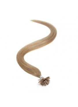 Farve 20 gylden blond, 100 totter 1 grams luksus remy hår, 60 cm langt, med keratin negle