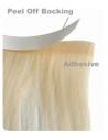 8 Lysebrun, tape hår 4 cm brede luksus remy baner