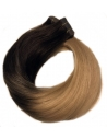 2/18 Ombre Tape hair extension, Asien Luxury, 4 cm baner, 50 cm