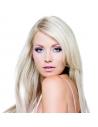 Silver Blond, Premium Luxury Trense 70 cm langt, 100 gram remy hår