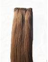 10 Lys Brun Håndsyet trense i unique top kvalitet 50 cm længde