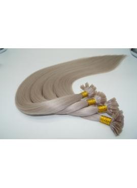 Silver, Premium luxury 50 cm langt, 1 grams totter, 100 totter til hotfusion