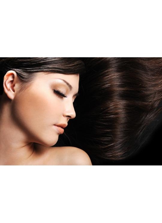 2 mørkebrun tape hår 4 cm brede luksus remy baner