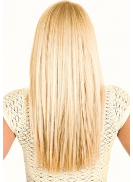 613 LysBlond Tape Hair Extension, SkinWeft, Luksus Remy Hår, 50 cm