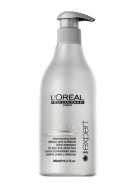 L´oreal Silver Shampoo 500 ml - til reducering af gule toner