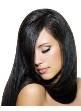 1 Sort, tape hår 4 cm brede luksus remy baner