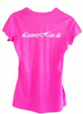 Geyser Sport T-shirt i lilla eller pink med LuxuryHair logo