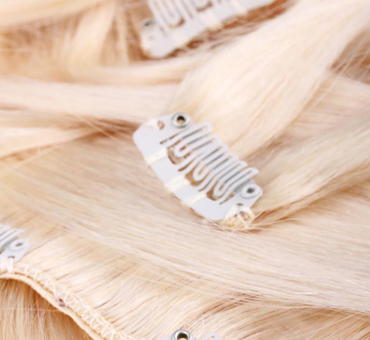 Clip Easy on Hair Extensions 8 Laces